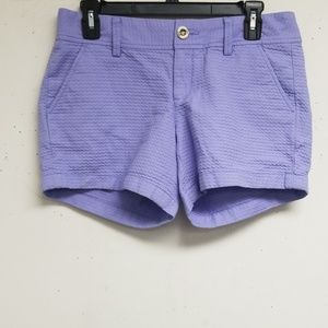 Lilly Pulitzer The Callahan Lavender Short Size 4